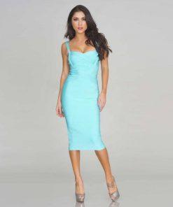 Sling Bandage Celebrity Dress