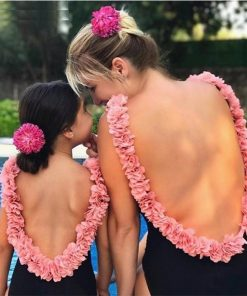 Mother Daughter Flower Swimsuit