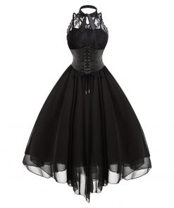 Gothic Bow Party Dress