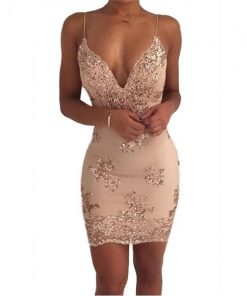 Backless Club Dress