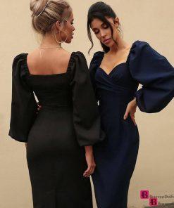 Elegant Off Shoulder Club Dress