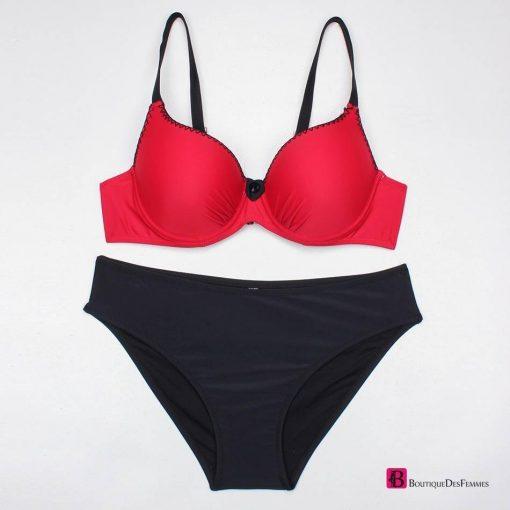 Fashion Bordered Bikini