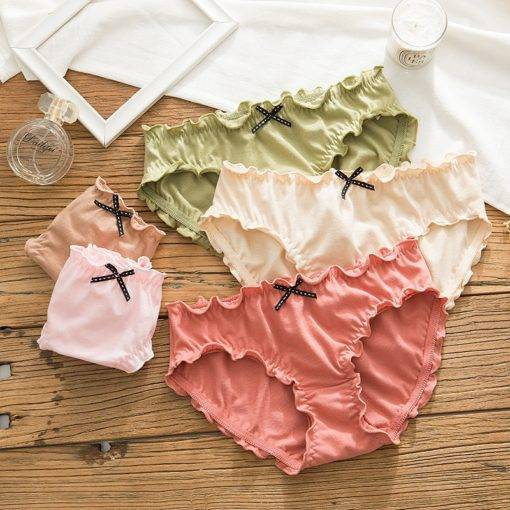 Lovely Pleated Cotton Panty