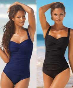Plus-Size One-Piece Swimsuit