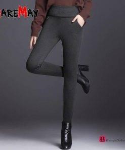 Velvet Thick Warm Skinny Pants